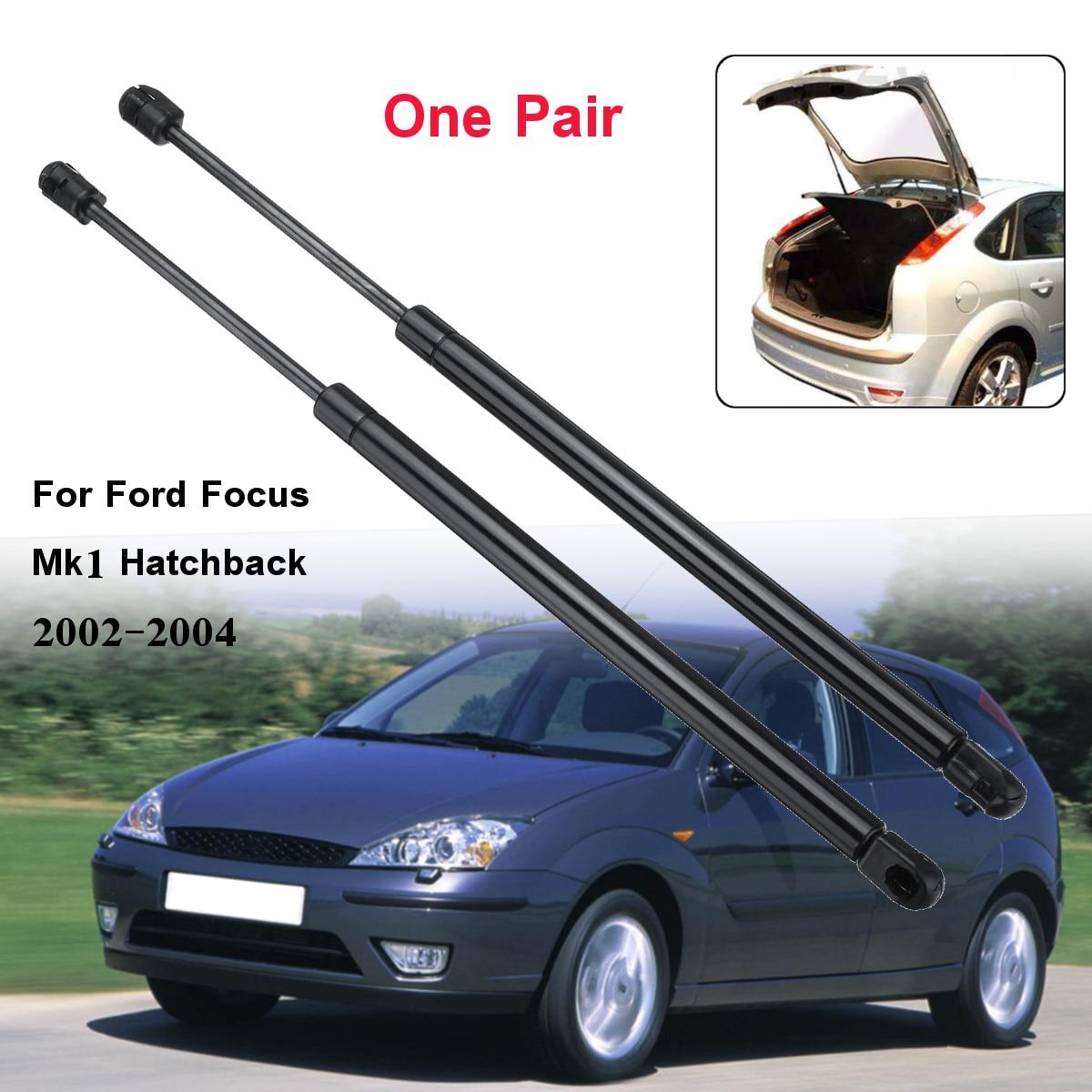 2 sztuk samochodów tylna klapa Boot siłowniki pneumatyczne wsparcie dla forda na Focus Mk1 Hatchback 1998 1999 2000 2001 2002 2003 2004