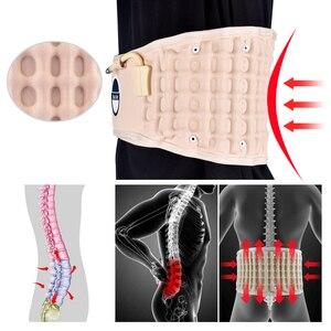 Image 5 - Lumbar Support Back Belt Spinal Air Decompression Lumbar Belt Air Traction Waist Belt Back Massage lower back support brace Belt