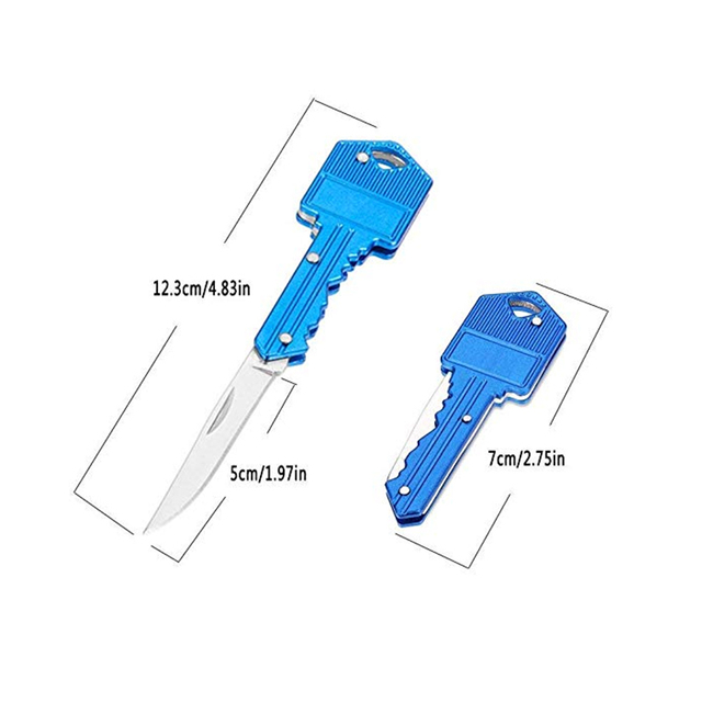 Women Self Defense Keychain Mini Outdoor Folding Pocket Knife Survival Tools Camping Tactical Hunting Personal Defense Knives