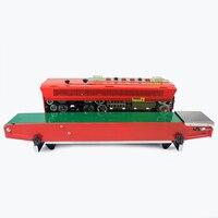 잉크 휠 타입 씰링 기계 자동 연속 씰링 기계 플라스틱 씰링 기계 알루미늄 호일 필름 포장 백