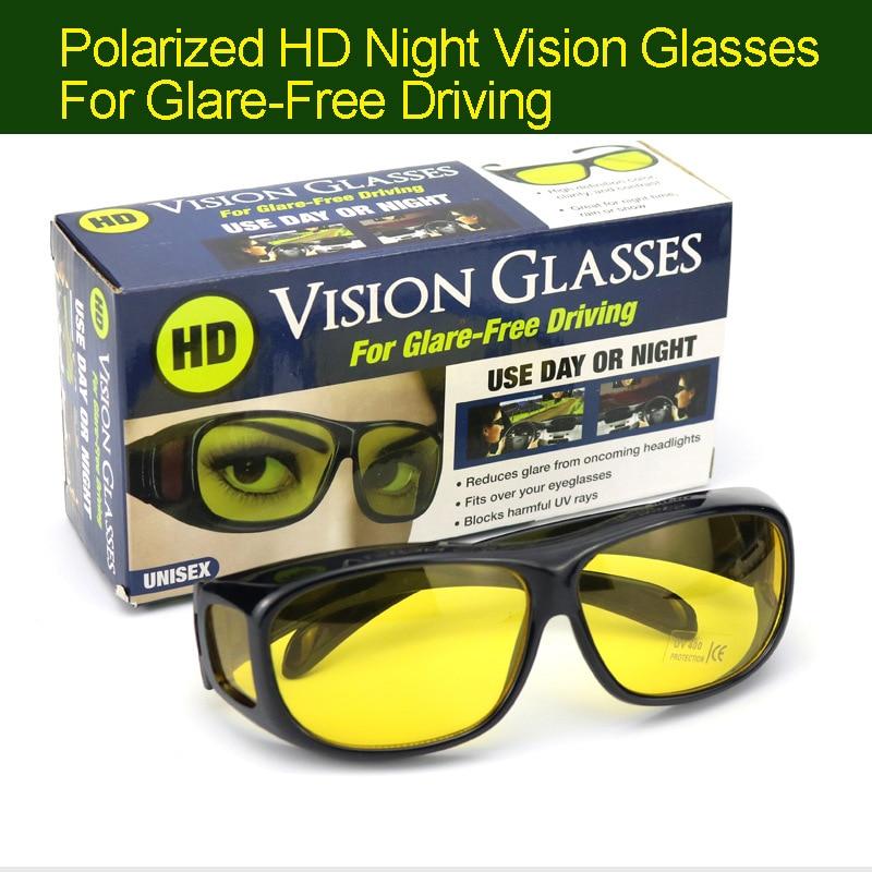 Night Driver Anti-glare HD Vision Polarized Night Vision Goggles Set Driving Wind Mirror Sports Night Vision Glasses