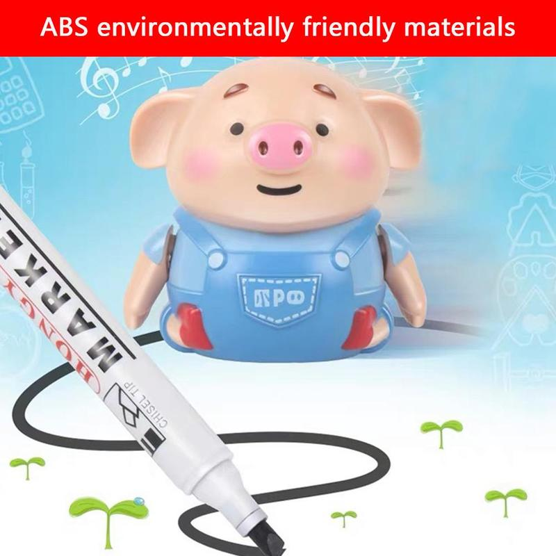 Scribing Induction Pig Toys Animals Dinosaur Follow Marker Writing Movement Popular Electronic Novelty Children Leisure Toy
