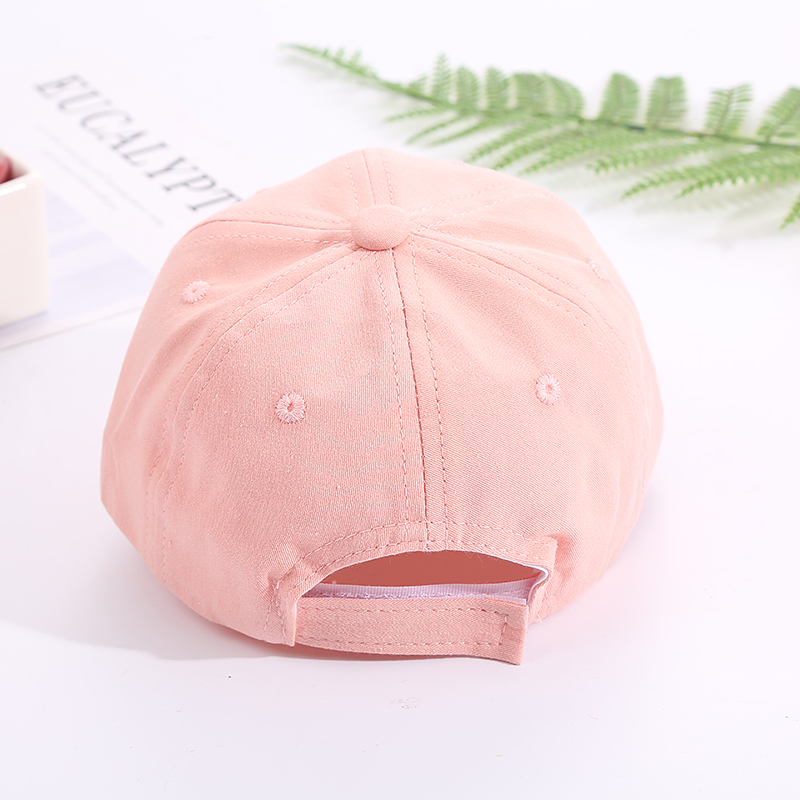 Hd74d6ac4a2394145a11eda198e9d482fi - Baby Hat Cute Bear Embroidered Kids Girl Boy Caps Cotton Adjustable Newborn Baseball Cap Infant Toddler Beach Outdoor Sun Hat