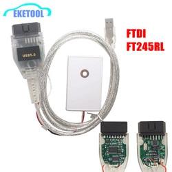 VAG TACHO USB 5.0 FTDI FT245RL dla AUDI/VW/Skoda/Seat MCU 24C32 24C64 USB OBD2 narzędzie diagnostyczne do samochodów darmowa wysyłka