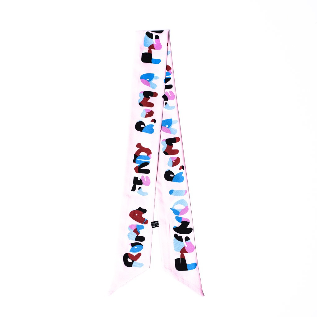 Стиль, корейский стиль, весна-лето-осень, длинные шелковые шарфы, корейский стиль, модный шейный платок, Универсальный двойной слой