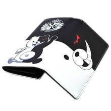 Anime Danganronpa: Trigger Happy Havoc Wallet Black and White Bear Projectile Wheel Dance Hope Peak Academy Hand