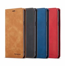10Piece/lot For Samsung Galaxy S9 S9+ Case Magnetic Phone Cover Wallet Flip Leather Stand