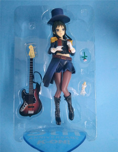 Image 5 - 20cm Anime Action Figure K ON 5th Anniversary Akiyama Mio Bassist Bass Guitar Ver 1/8 Scale PVC Model Collection Toys Doll New