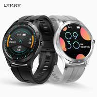 LYKRY S20 Women Smart Watch men Fitness Tracker Smartwatch Heart Rate Monitor Full Touch Screen Sport Pedometer Wristband 2020
