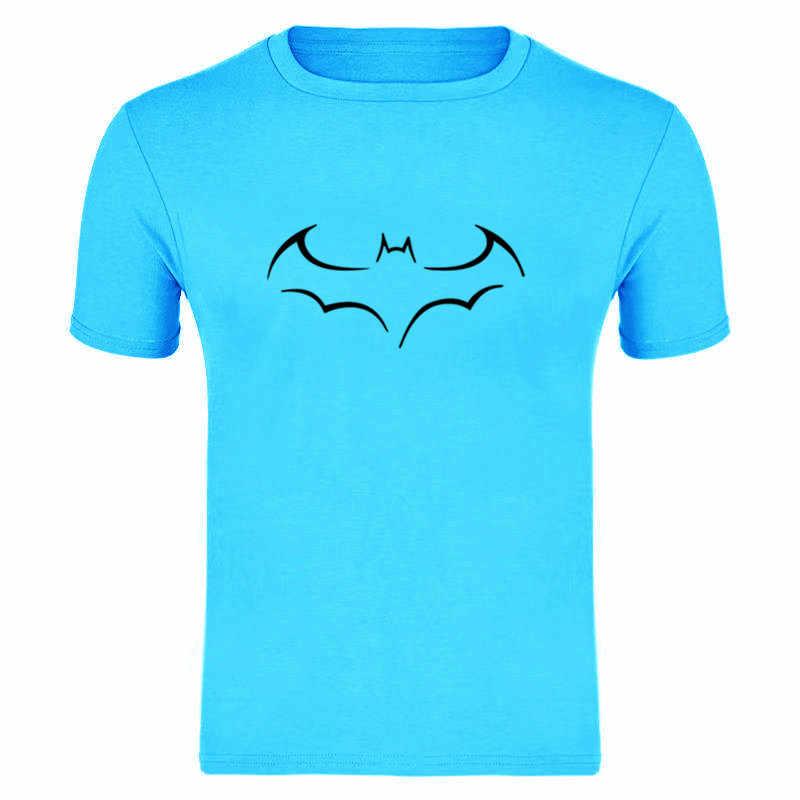 Koszulka 2019 nowa moda męska bawełna z krótkimi rękawami na co dzień Bat druku mężczyzna Tshirt koszulki z krótkim rękawem mężczyźni kobiety topy koszulki S-XXXL