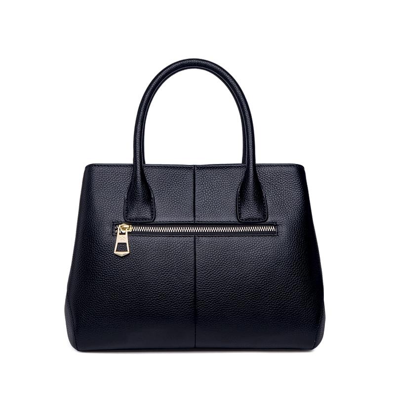 ZOOLER 2019 kobieta skórzana torba s kobiety znane marki luksusowe torebki torba ze skóry naturalnej torby na ramię zaprojektowany dużego ciężaru Bolsos # WG206 w Torby z uchwytem od Bagaże i torby na  Grupa 3