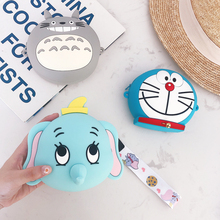 Fashion Top Quality Mini Wallet Soft Silicone Small Circle Purse Female Coin Bag Zipper Women Wallets Credit Card Pouch Carteira