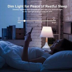 Image 3 - 3/5/10 sztuk SONOFF D1 DIY Wifi przełącznik inteligentny ściemniacz przełącznik światła 433Mhz RF sterowany przełącznik przez eWeLink APP Google Home Alexa