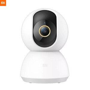 Image 2 - מקורי Xiaomi Mijia חכם IP מצלמה 2K 360 זווית וידאו WiFi ראיית לילה אלחוטי מצלמת אבטחת תצוגת מצלמת תינוק צג טלוויזיה במעגל סגור