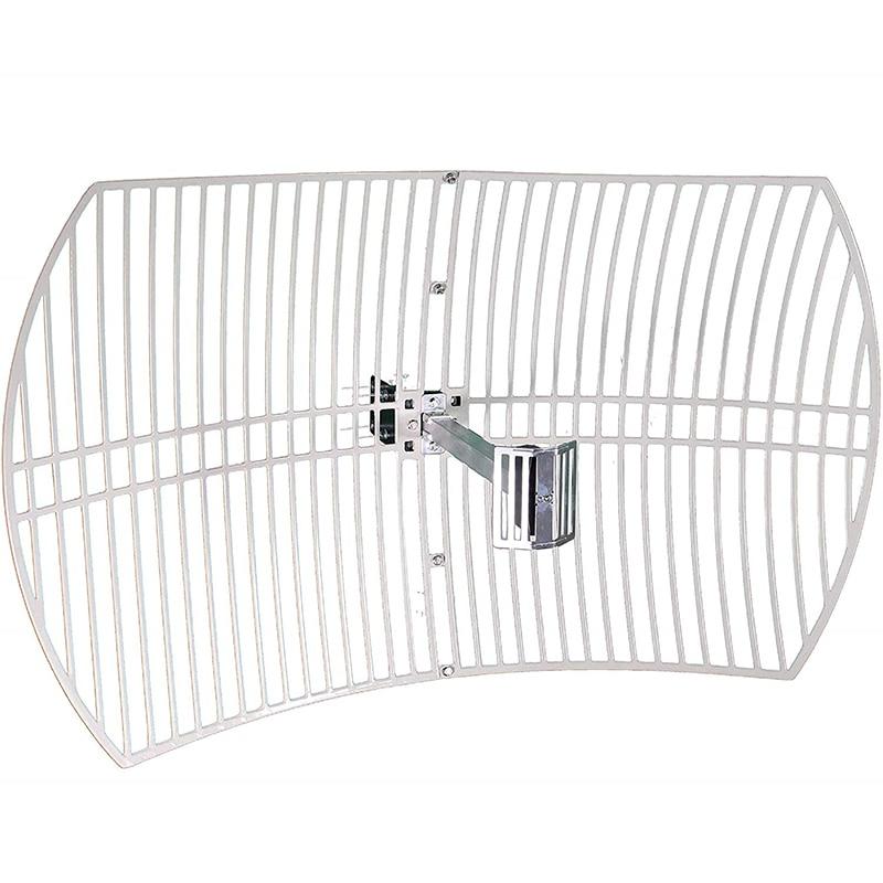 2.4G 19dBi Ultra Long Range WiFi Extender Directional Parabolic  Grid Outdoor wifi Antenna High Speed Signal BoosterCommunications  Antennas