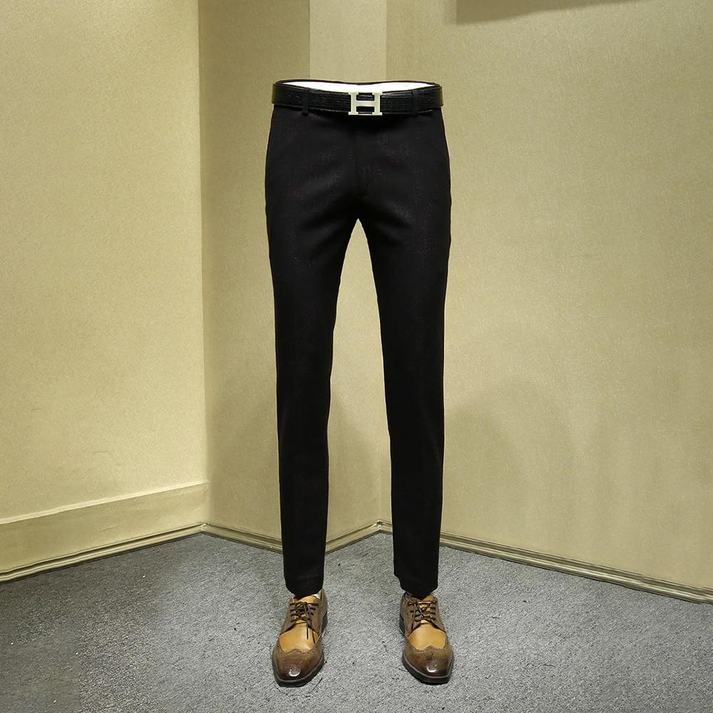 Slim Black Dress Pants