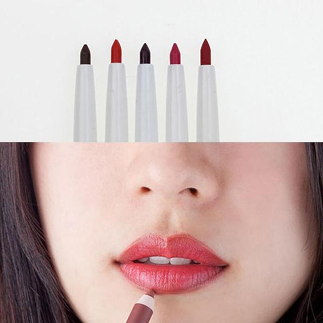 Long Lasting Pigments Waterproof no blooming beauty Makeup color optional Tool Pencils Matte Lip Liner pen use with lipstick