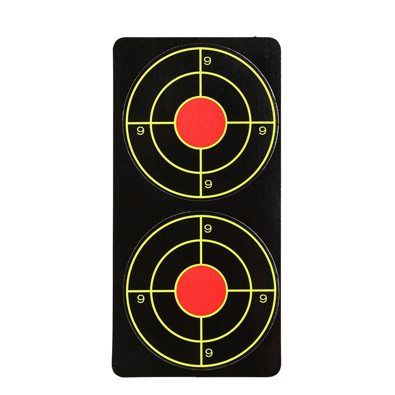 Self Adhesive Fluorescent Target Sticker Paper Targets Slingshot Shooting Training Sportswear Outdoor Toys
