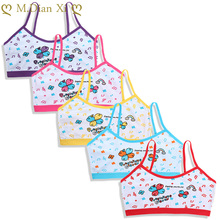 Bra Cotton Underwear Puberty-Clothing Training Teenage Girls Kids Summer for 4pcs/Lot