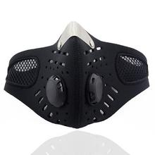 Motorcycle Ski Anti-pollution Mask Mountain Bicycle Sport Road Cycling Masks Face Cover Dustproof with Filter