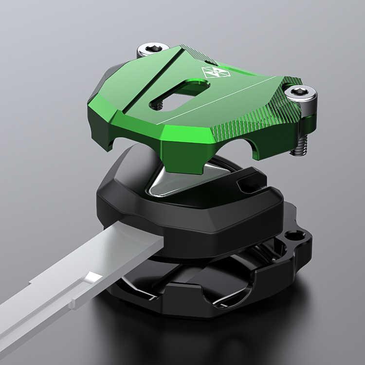 Kawasaki chave de cabeça modificado motocicleta ninja250 elétrica fechadura da porta capa acessórios ninja 400 caso protetor chave