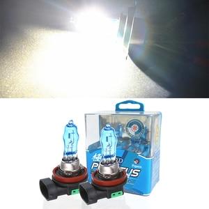 Image 2 - Auto Halogeenlamp H1 H3 H4 H7 H8 H11 9005 9006 880 881 Wit H11 Gele Lichten 6000K 12V 100W Auto Lamp Auto Koplamp