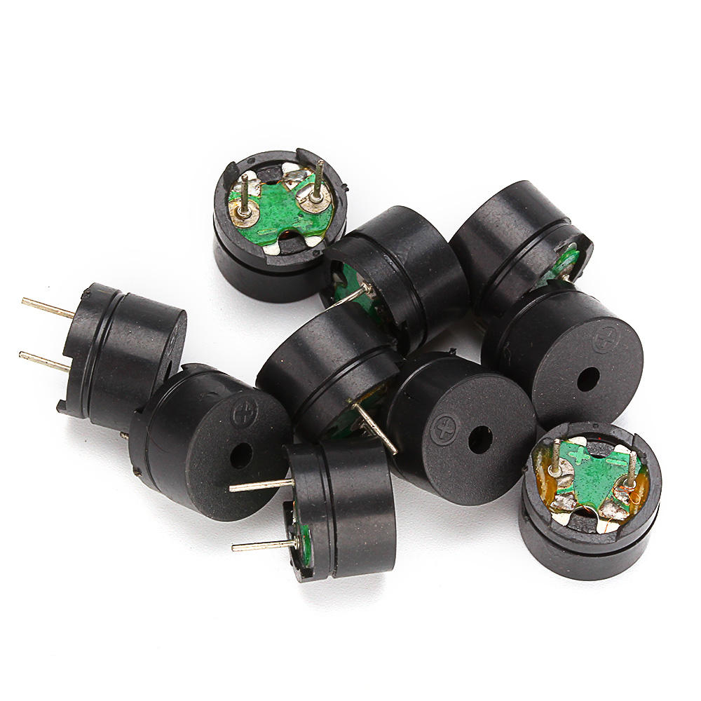 20PCS/Lot 16R Resistance Passive Buzzer AC 12MM*8.5MM 16 Ohm 3V 5V 9V 12V Mini Piezo Buzzer 12085 For Arduino Diy Electronic