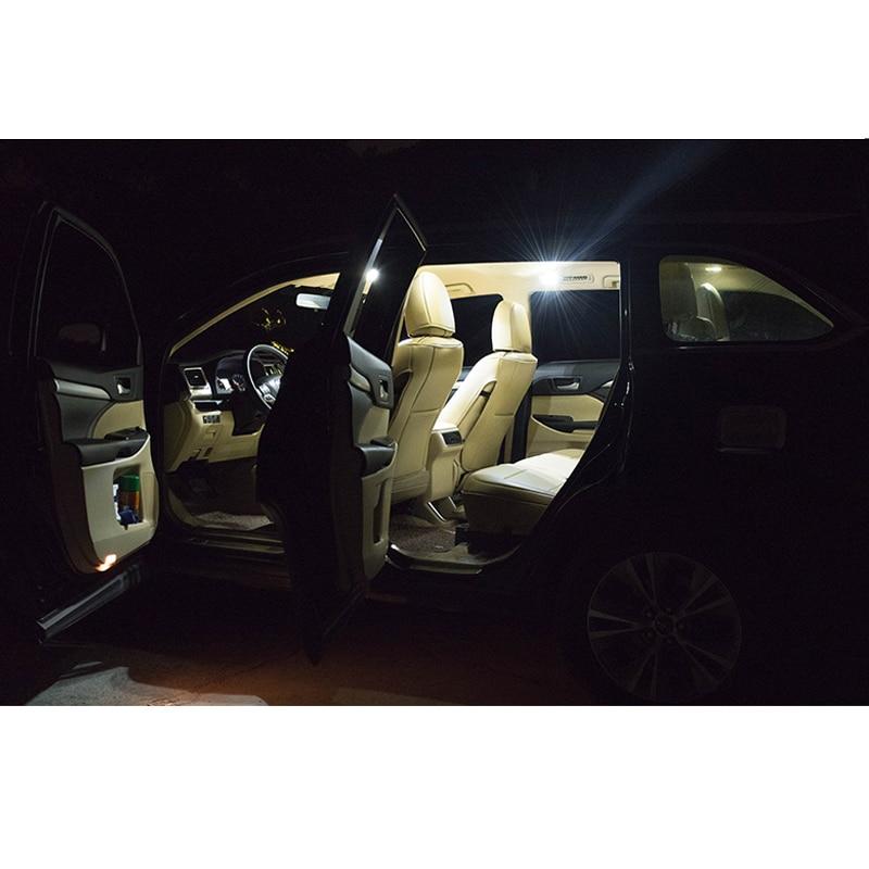 2 шт. белые автомобильные аксессуары F28mm Canbus Error Free светодиодный внутренний светильник чтения светильник комплект Карта Купол лицензии ламп...