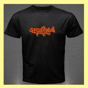 Fishpond-Camiseta negra con logotipo pesca para hombre, talla S, M, L, Xl,...