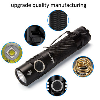 Sofirn New SC31 Pro SST40 2000lm LED Flashlight Rechargeable 18650 Flashlights USB C Powerful LED Torch Outdoor Lantern Anduril 5