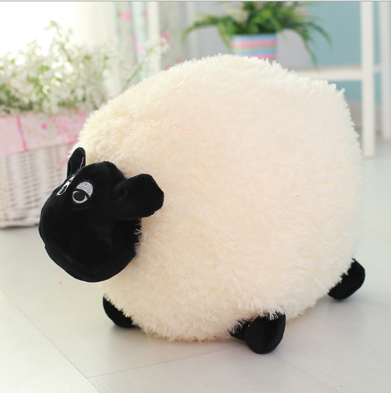 Stuffed Animals & Plush Wool Velvet Toy Dolls & Accessories Sleeping Pillow Plush Animal Toy Children Classic Toys Lamb Doll