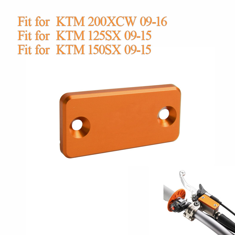 Free shipping Motorcycle Parts CNC Aluminium alloy Accessories Front Brake Reservoir Cover fit for <font><b>KTM</b></font> <font><b>950</b></font> 990 ADV <font><b>SM</b></font> image