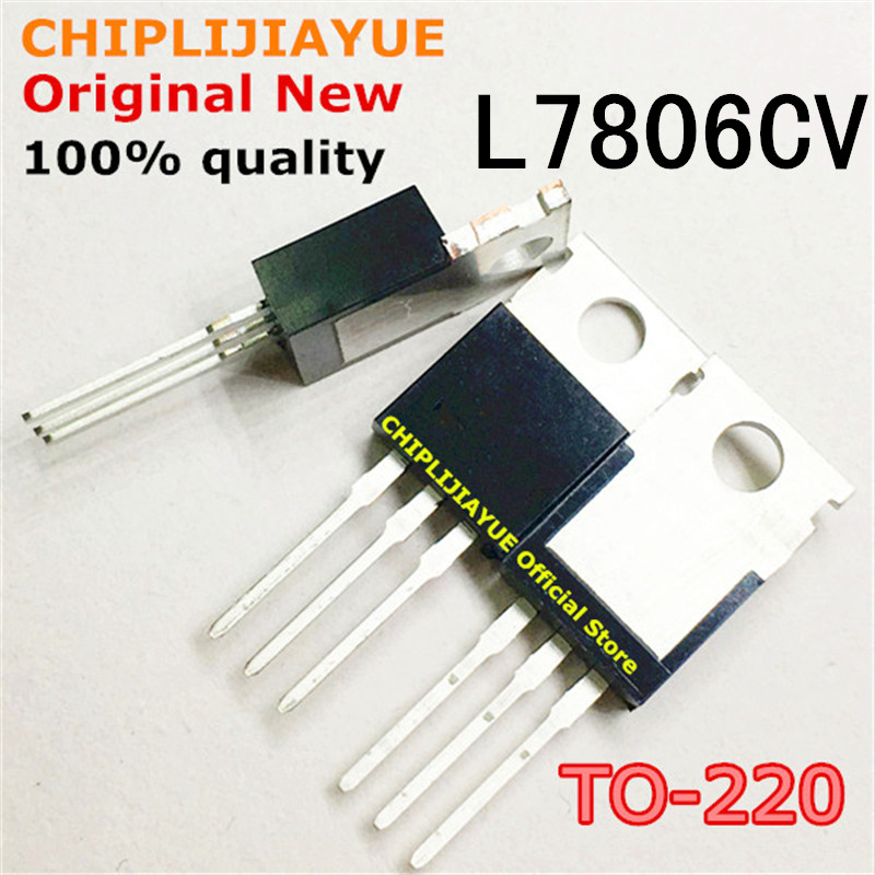 10PCS L7806CV L7806 TO220 7806 MC7806 LM7806 TO-220 new and original IC Chipset