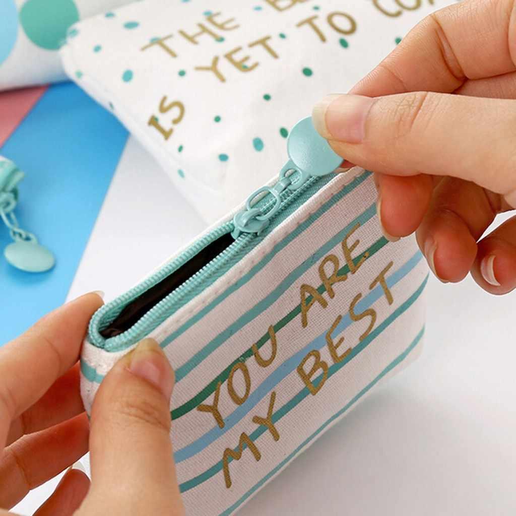 Femmes filles Mini poinçon impression fleur collations porte-monnaie portefeuille sac changement pochette, porte-clé