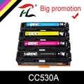 YCL 304A Kompatibel Toner Patrone CC530A CC531A CC532A CC533A für HP Farbe LaserJet CM2320nf CP2025 CM2320fxi CM2320n CM2320nf