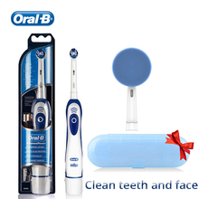 Toothbrush Oral-B Electtric Whitening with Deep-Clean-Teeth And Face-Washable Best-Gift