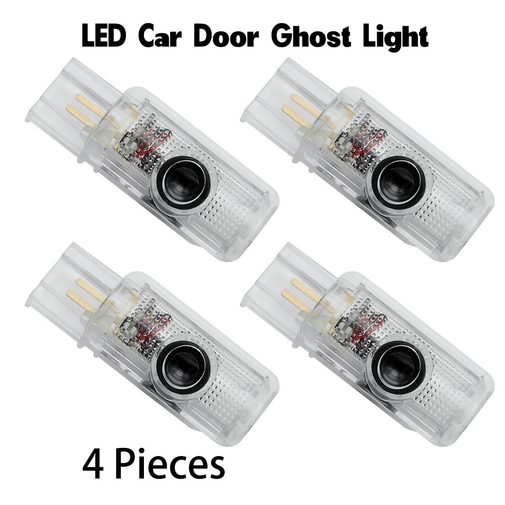 Светодиодный Двери Автомобиля светильник для Mercedes AMG Auto эмблема логотип лазерный Добро пожаловать лампы уличное призрак Luces для Benz класса R ...