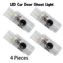 Diodo emissor de luz da porta do carro para mercedes amg logotipo emblema do carro lâmpada bem-vindo a laser cortesia fantasma luces para benz classe r gl w215 x164 w164