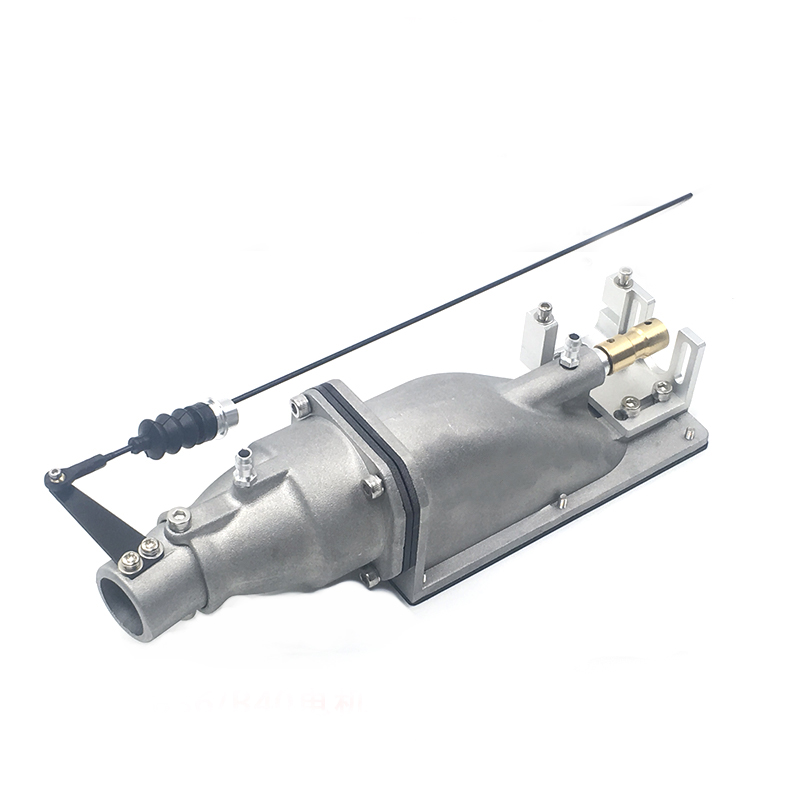 1PC Ship Model Metal Water Jet Thruster 35mm Impeller Jet Pump Spray Ejector Engine With 18mm OPENING Spare Parts For RC Boat