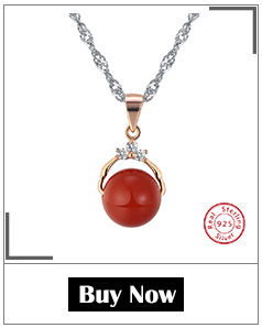 Hd752cf3c3b5b4639ab28aff94a4008b6O ORSA JEWELS 925 Sterling Silver Red Natural Stone Cherry Pendant Necklaces for Women Genuine Silver Jewelry Necklace Gift SN03
