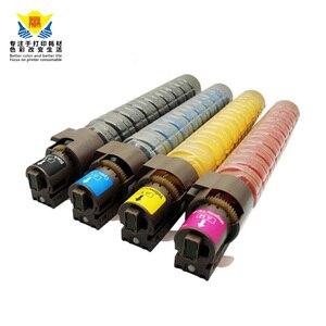Image 2 - JIANYINGCHEN cartouche de Toner de couleur Compatible avec ricoh, pour imprimante laser, MPC2000, MPC3000, MPC2500 (lot de 4 pièces)