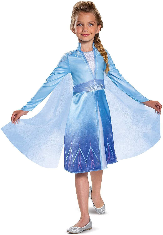 Disney Elsa Princess Girls Dress Kids Dresses For Girl Christmas