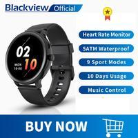 Blackview nuevo reloj inteligente X2 el corazón de los hombres de las mujeres de los deportes reloj Monitor de sueño Ultra-larga Battrey para IOS Android Teléfono