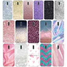 154fg glitter bling powderc presente macio silicone tpu capa de telefone para nokia 2.1 2.3 3 3.1 4.2 5 5.1 plus 7.2 6 8
