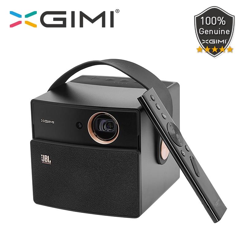XGIMI CC Aurora caballero oscuro DLP proyector portátil Wifi Bluetooth 3D obturador soporte de Android de cine en casa de Video HD 4K proyectores