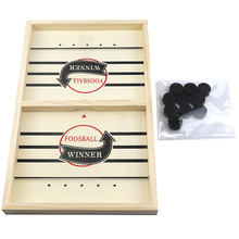 Board-Game-Toys Catapult-Chess Table Hockey-Game Foosball Winner Fast-Sling Kids Puck