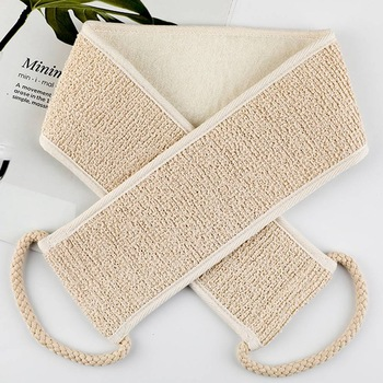 1PC Sisal Bath Shower Body Washing Clean Exfoliate Puff Scrubbing Towel Cloth Scrubber Soap Bubble For The Bath Like Loofah 1