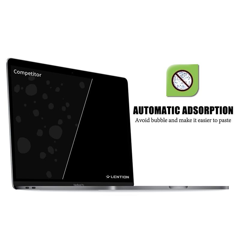 Protetor de tela para macbook pro 15 polegada 2019 modelo a1707/a1990, filme hd com revestimento hidrofóbico proteger macbook pro15 pele-3