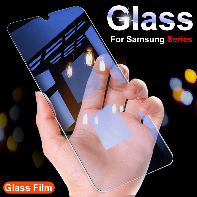 9H Tempered Glass For Samsung Galaxy A10 A20 A30 A40 A50 A60 A70 A80 A90 Screen Protector On Samsung M10 M20 M30 M40 Glass Film