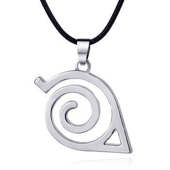 Collar de Naruto con símbolo de Konoha Merchandising de Naruto